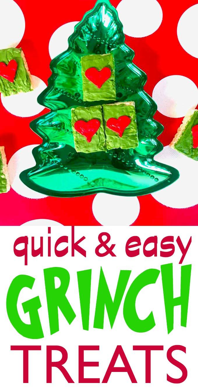 Grinch treats quick