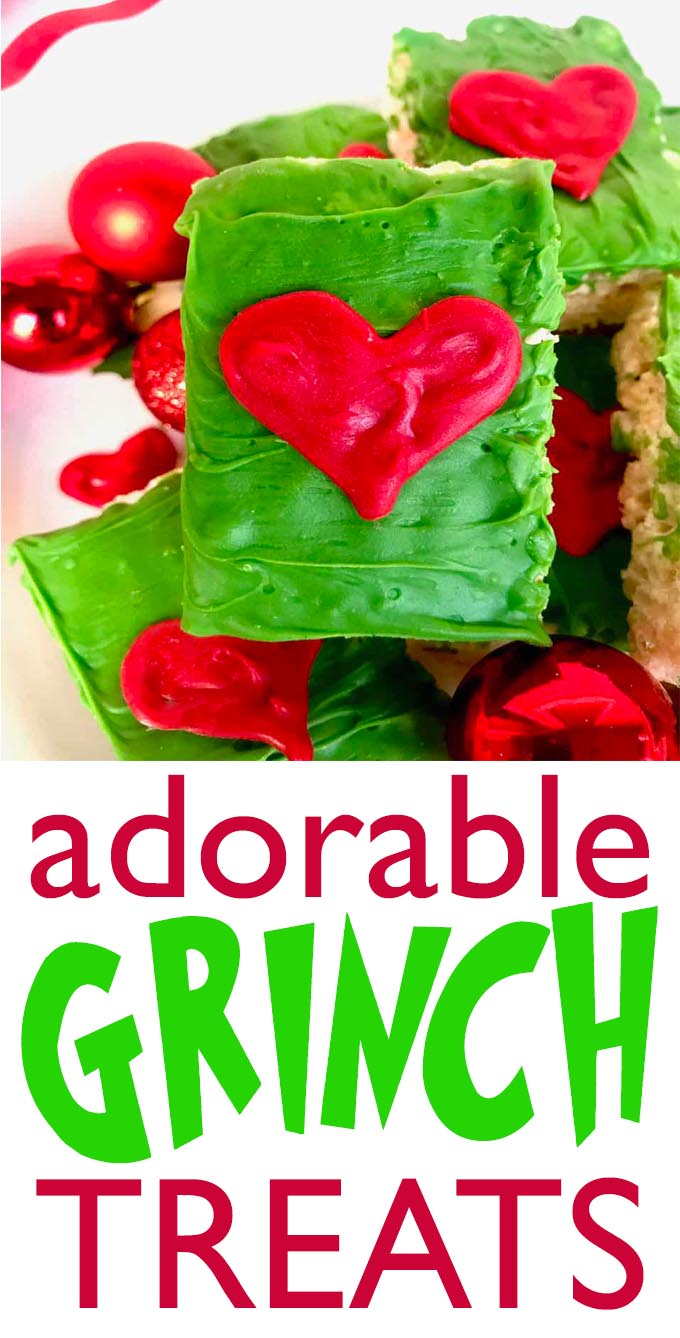 Quick and Easy Grinch Treats to make for the holidays