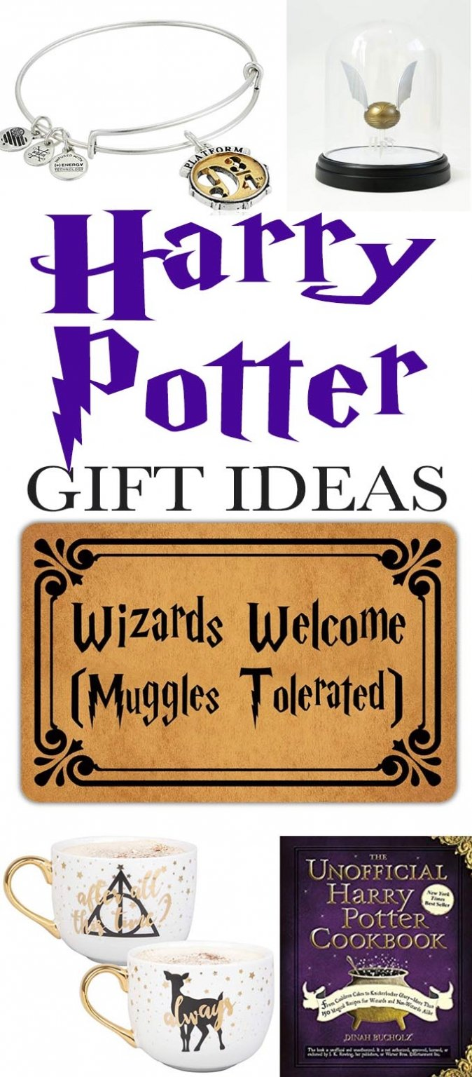 Whether you're looking for fab, whimsical gift or you're a wizarding fan, look no further than all the Harry Potter themed gift ideas we share here!