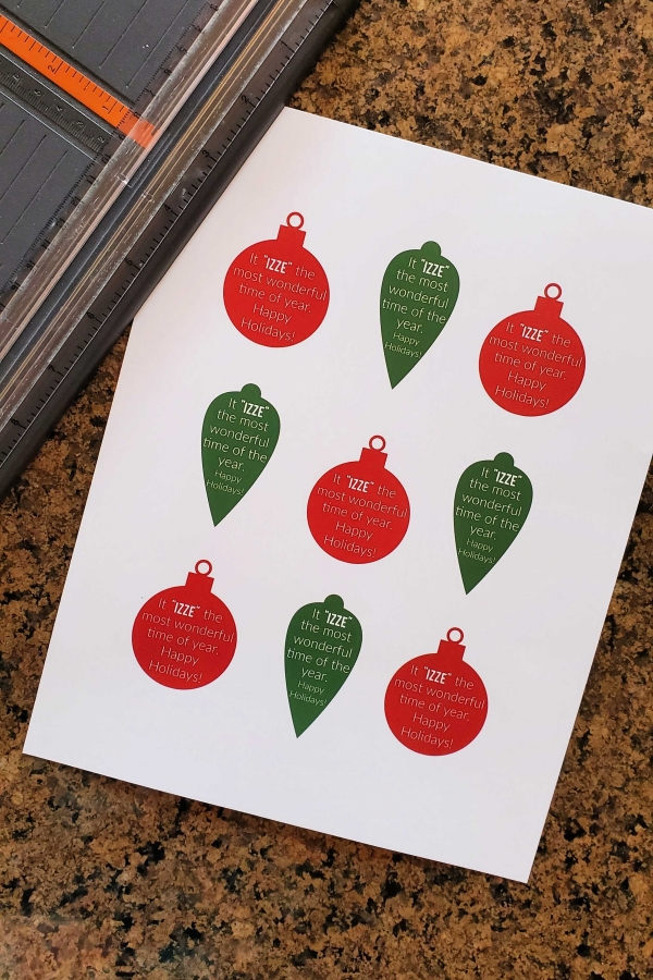 Izze christmas gift tags 1