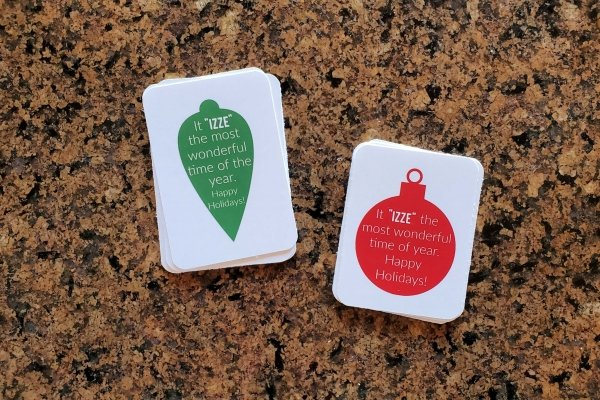 Izze christmas gift tags 3