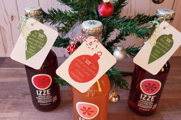 Izze christmas gift tags 5
