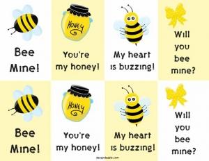 Bee valentines 1