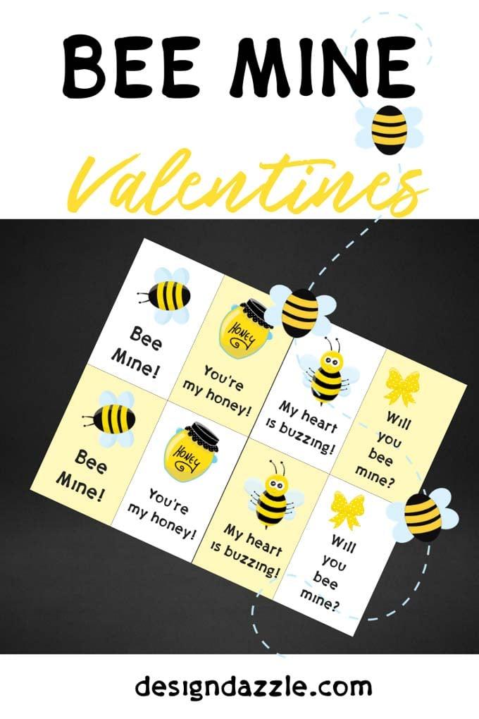 Bee valentines 2