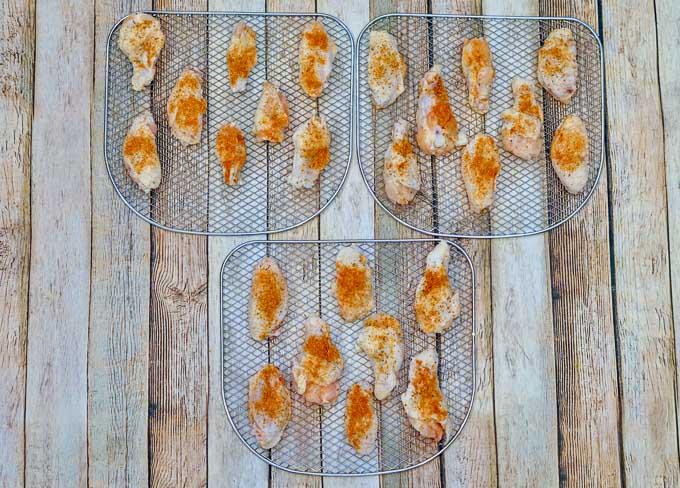 Cajun chicken wings 3
