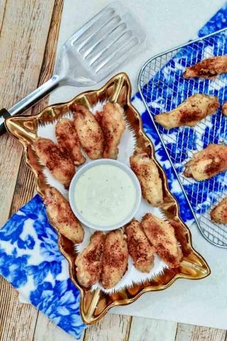 Cajun chicken wings 5