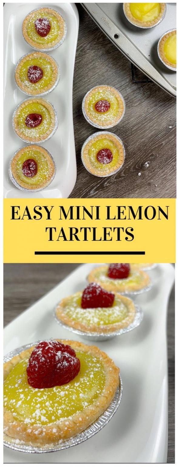 Easy lemon tartlets pinterest 1