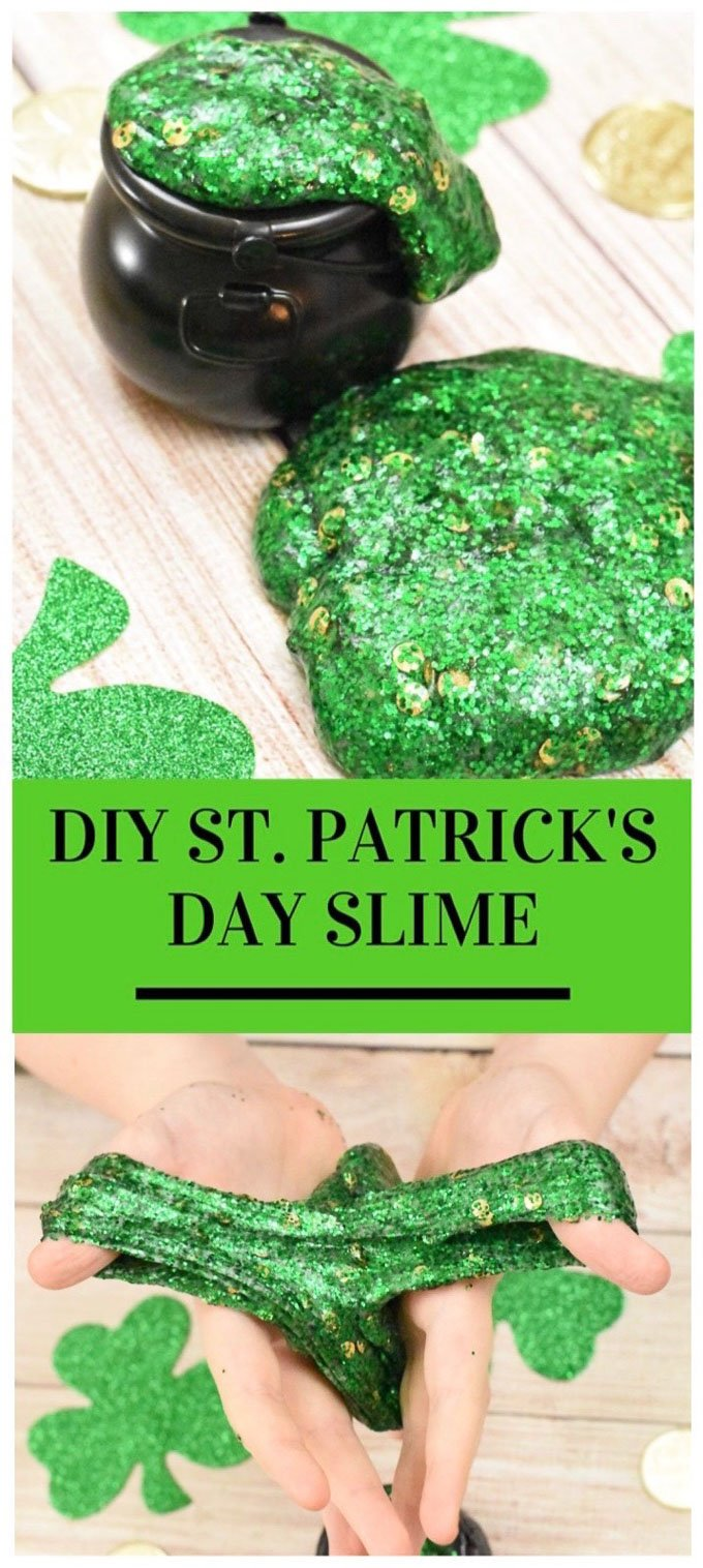 St patricks day slime 10