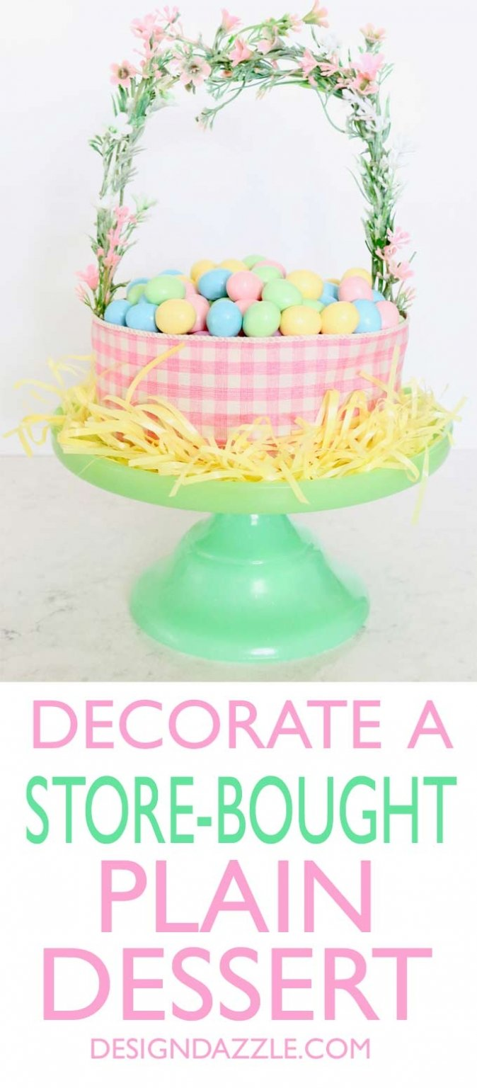 Decorate a store bought 2