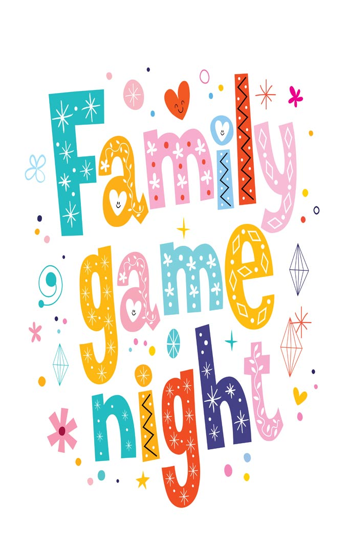 Family game night is a blast at our house! Playing games is a great way to interact with your family and watch less TV. I am sharing some of our favorite games for an epic game-filled evening!