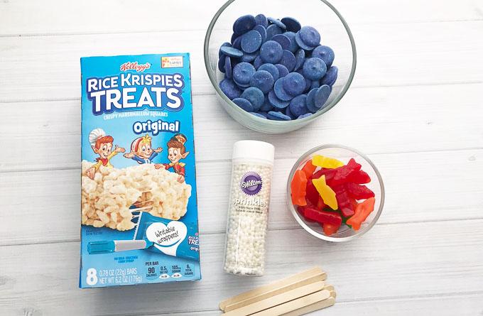 Fishy rice kirspie treats 6