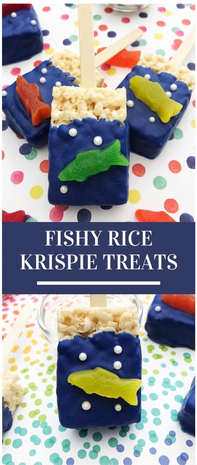Fishy rice kirspie treats pinterest 1
