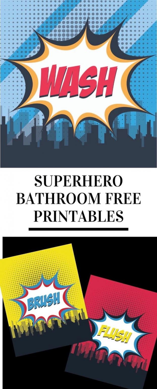 Superhero printables pinterest 1
