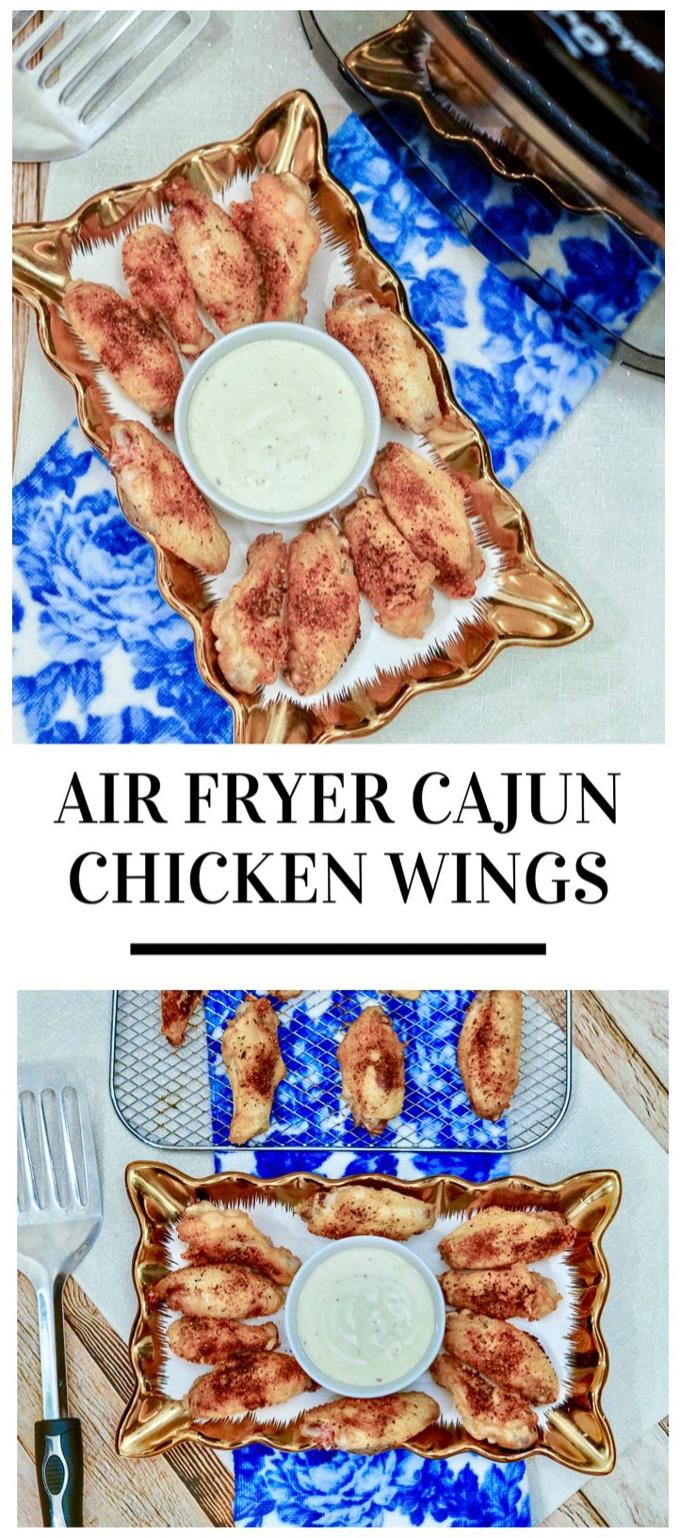 Cajun air fryer wings pinterest 1