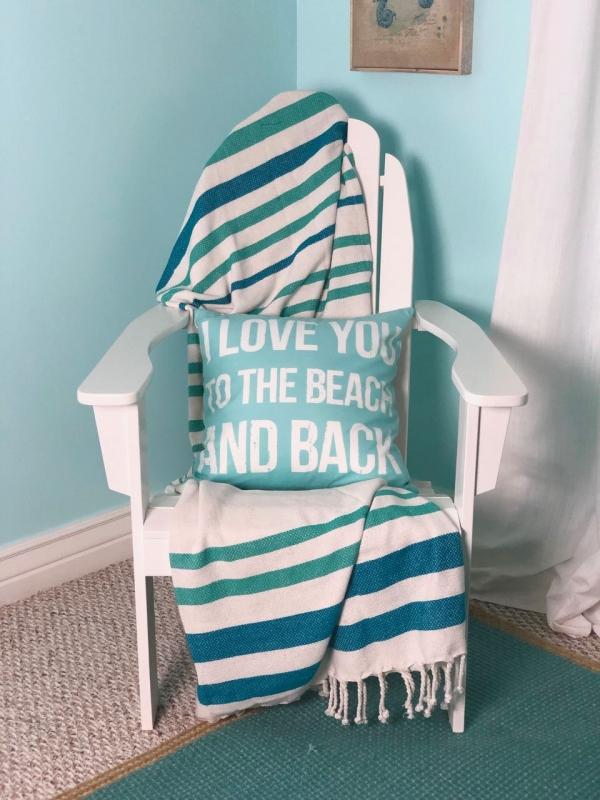Beach Themed Guest Room