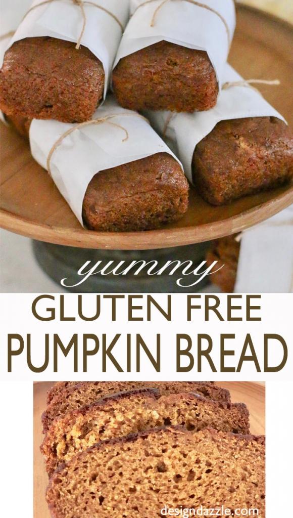 Gf pumpkin bread - easy and delicious!
