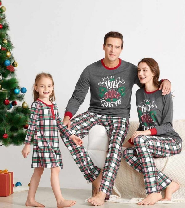 Holly Jolly Christmas PJ's