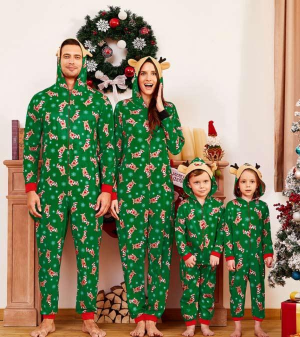 Reindeer Family PJ's