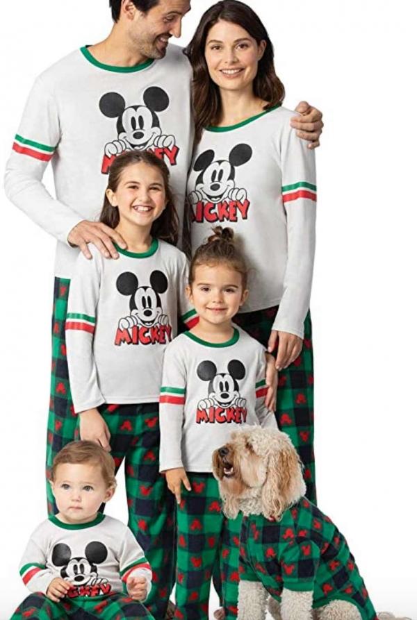 Mickey Mouse Family Christmas Pajamas