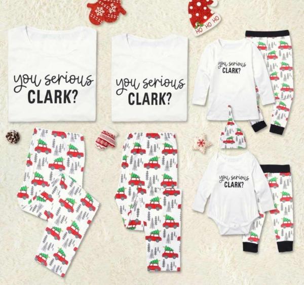 Christmas Vacation Family Pajamas