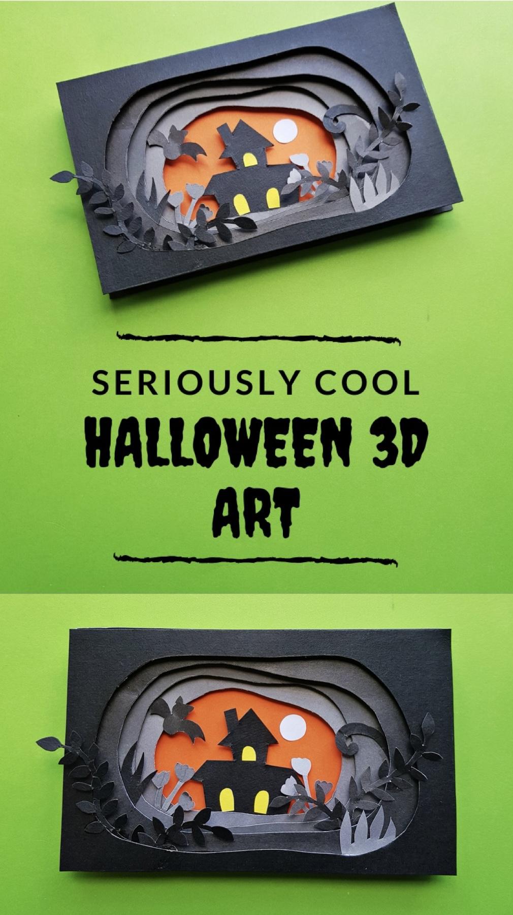 Halloween 3d Art Pinterest