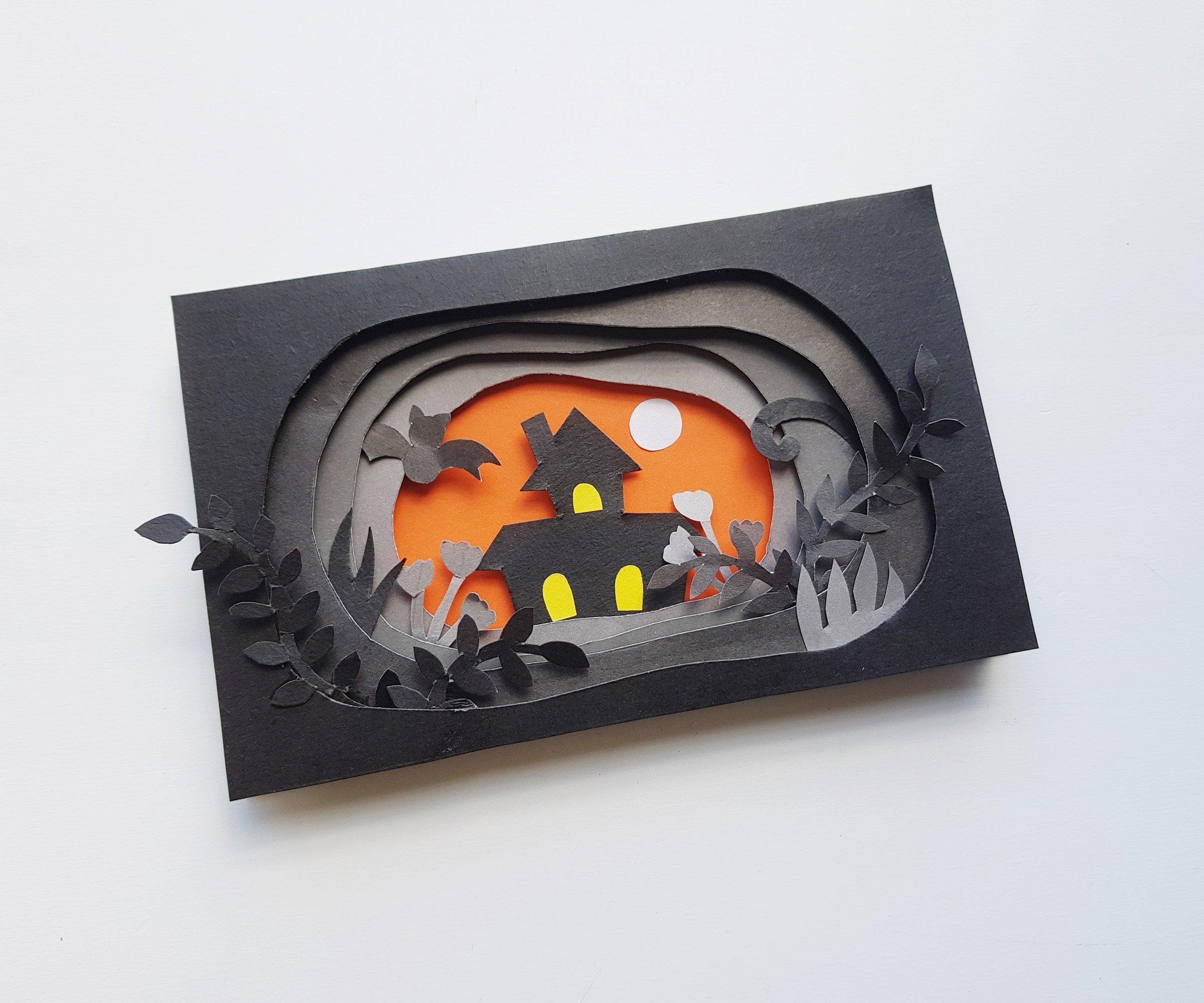 Halloween 3d Art