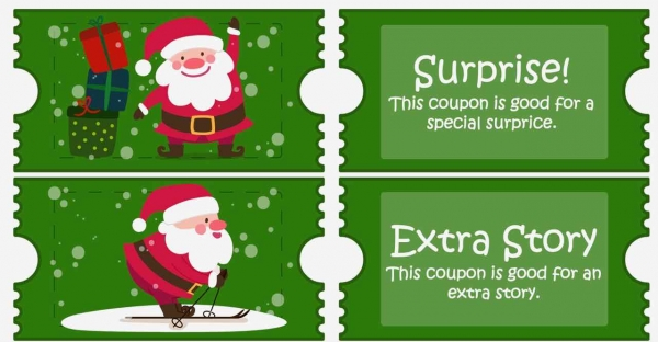 Free Christmas Coupons for kids and activity pages to color! - Design Dazzle