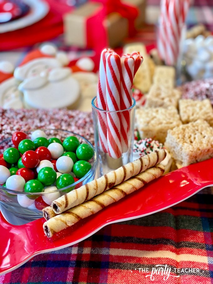 Christmas charcuterie board by the party teacher 15