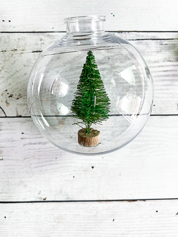Design dazzle christmas wonderful diy snow globe ornament 8