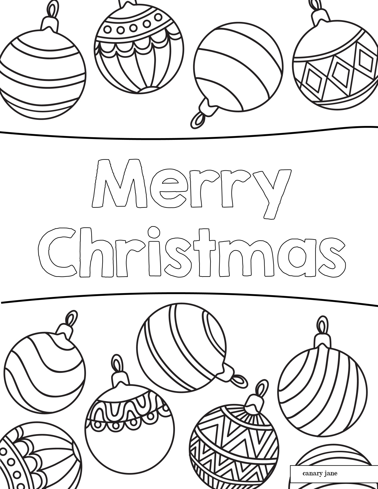 Floral christmas coloring pages 02 01