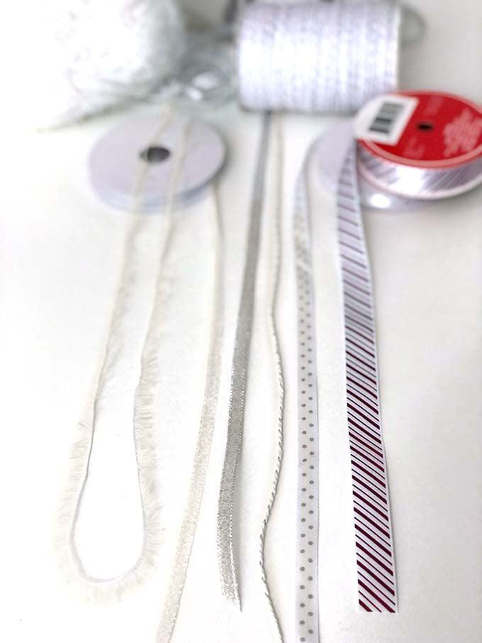 Ribbons for Santa's magic key tassel
