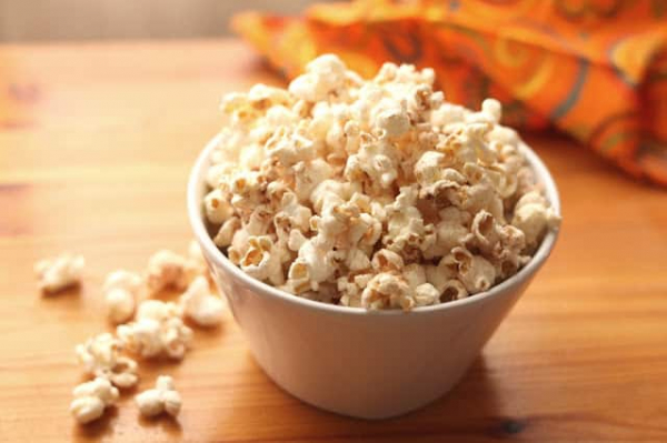 homemade popcorn savory or sweet