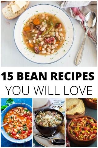 15 Delicious Bean Recipes you will love