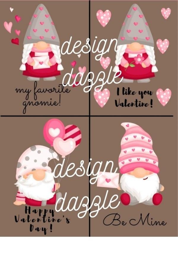 Gnome valentine watermark