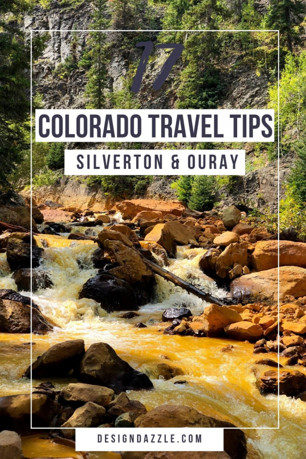 Silverton and ouray coloroado travel tips