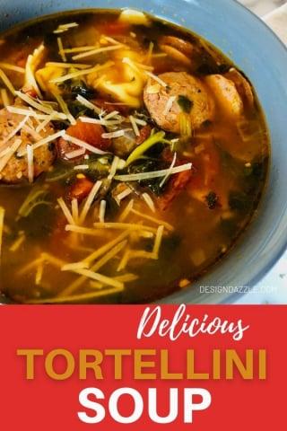 Tortellini Rustic Soup Recipe