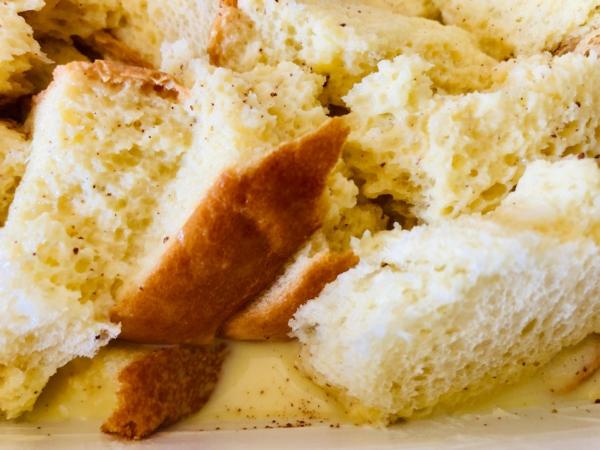 Strawberry french toast bake 4