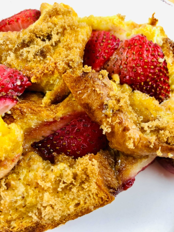 Strawberry french toast bake 8