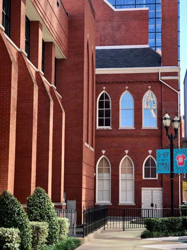 Visiting The Ryman in Nashville - Design Dazzle