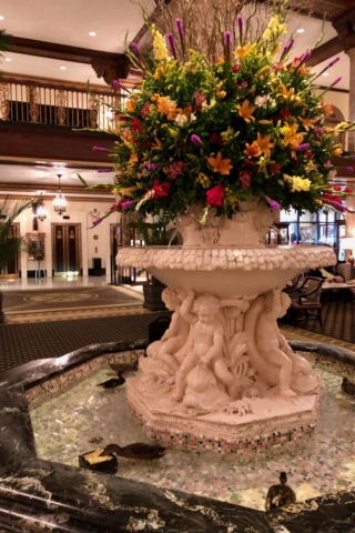 Memphis Duck March at The Peabody Hotel