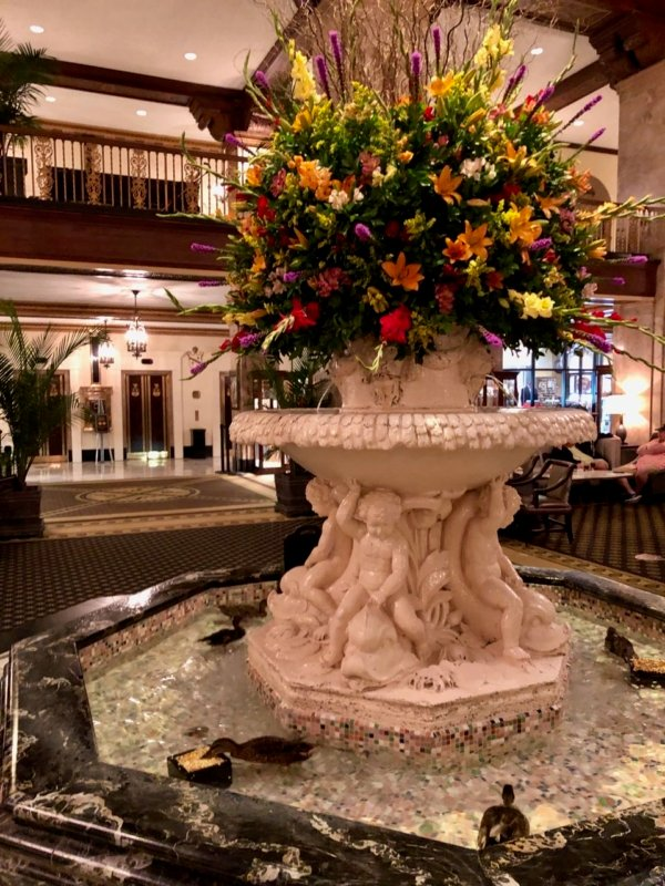 Visiting Memphis at The Peabody Hotel. See the duck march.