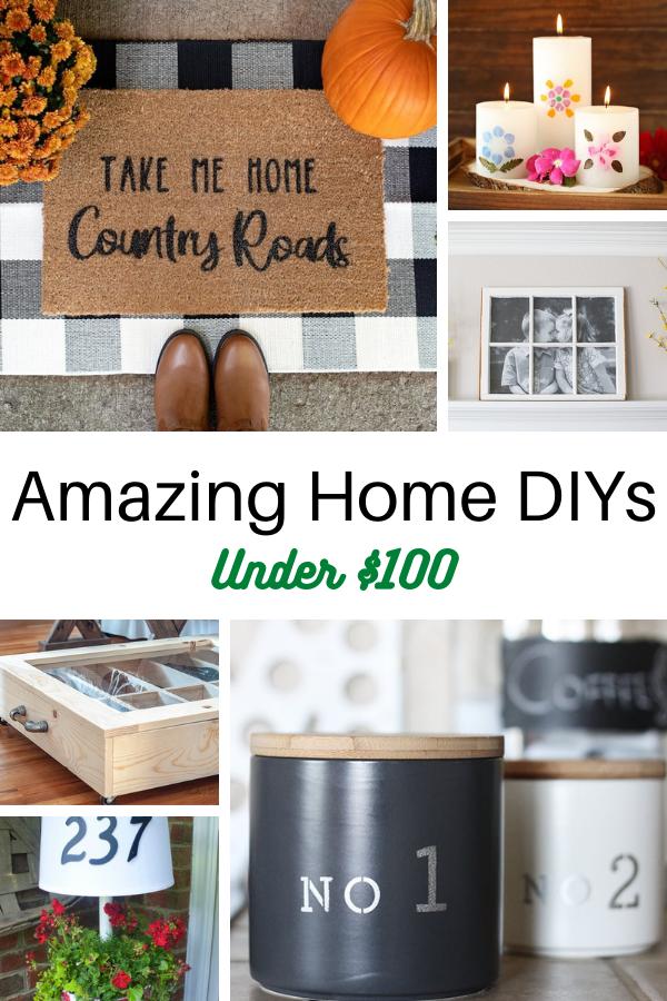 20 Amazing Home DIYs for Under 100