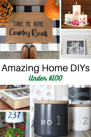 20 Amazing Home DIYs for Under 100 1 1